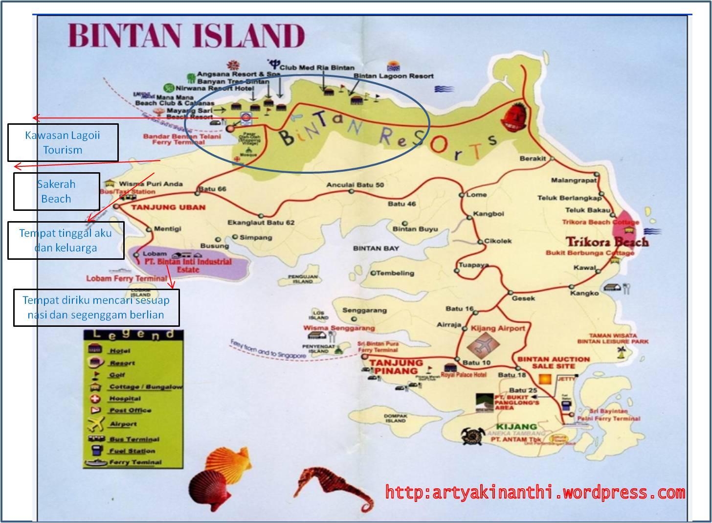 Tempat Wisata di Pulau Bintan/ Bintan Island – versi saya!