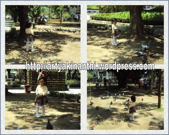 bermain di alun alun tulungagung