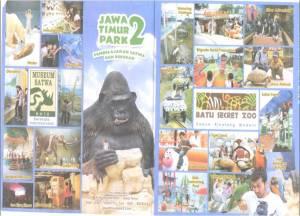Jatim Park II - Batu Secret Zoo dan berbagai  wahana didalamnya