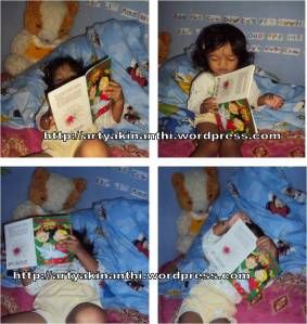 kinan dan buku cerita