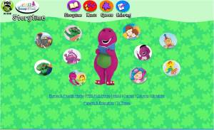 PBS kids barney story time