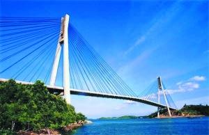 Barelang Bridge/ jembatan Barelang