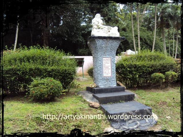 human statue atau patung kemanusiaan pulau galang