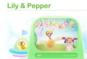 Lily & Papper 1 baby tv