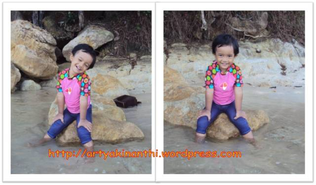kinan at beach on 19 May 2012