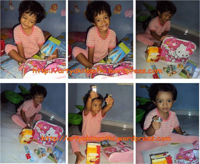 kinan dan goodie bag