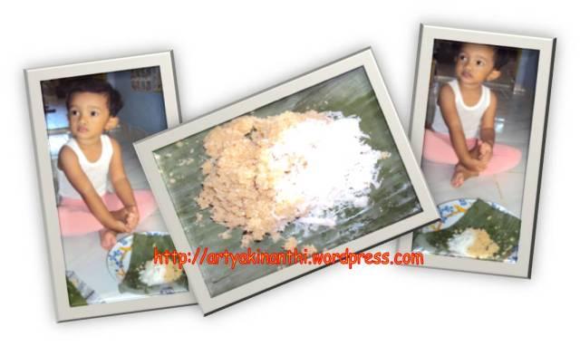 kinan makan tiwul