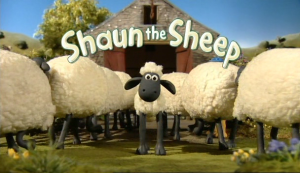 shaun and the sheep