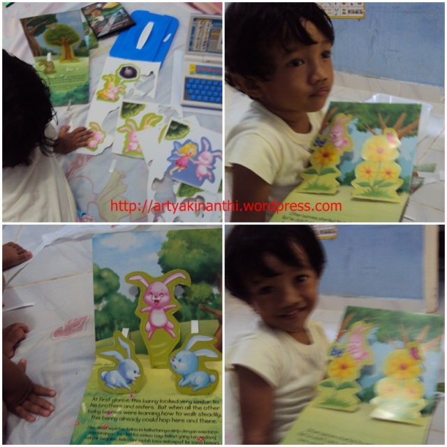 buku pop up   cerita rabbit