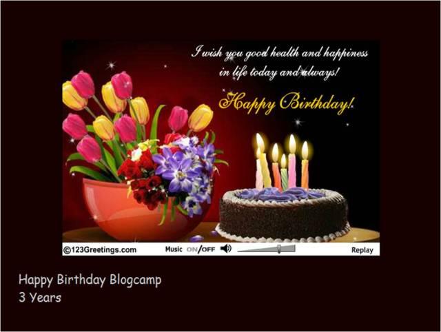 Happy Birthday Blogcamp