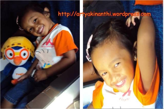 kinan di pesawat Batavia Batam - Surabaya