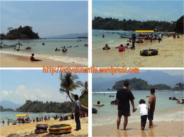 Pantai Karanggonso dari Kamera digcam emak kinan