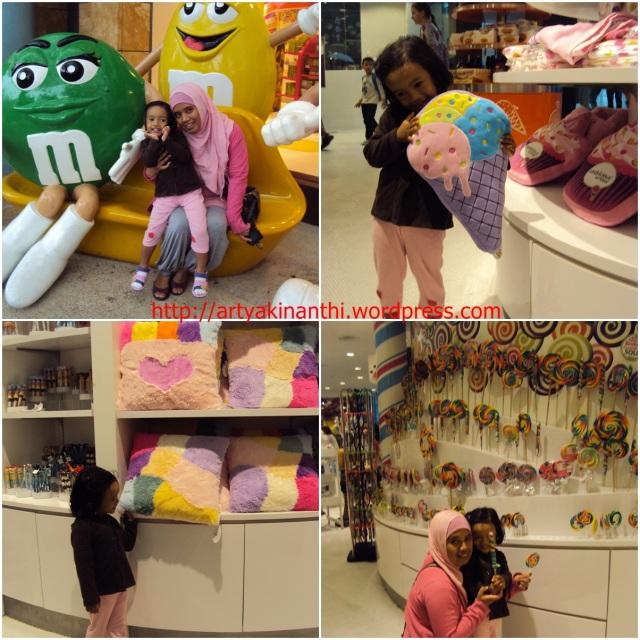 at candy shop sentosa island