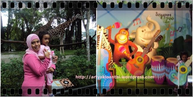 kinan & mama at singapore zoo