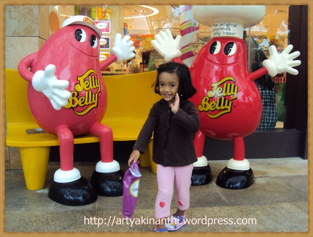 @ In front of Candylicious Sentosa Island