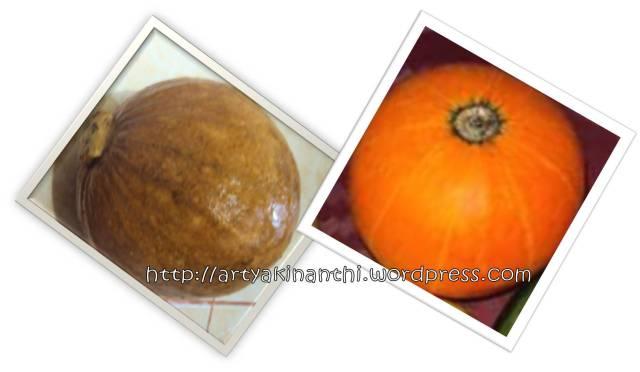 Labu kuning/Waluh/pumpkin/kabocha