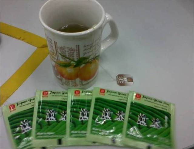 red sun japanese green tea