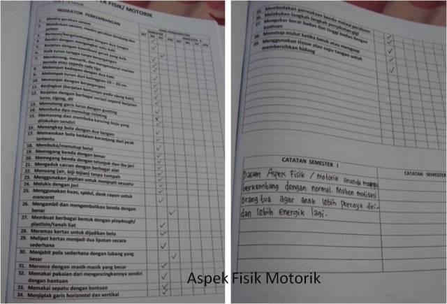 Aspek Fisik/Motorik