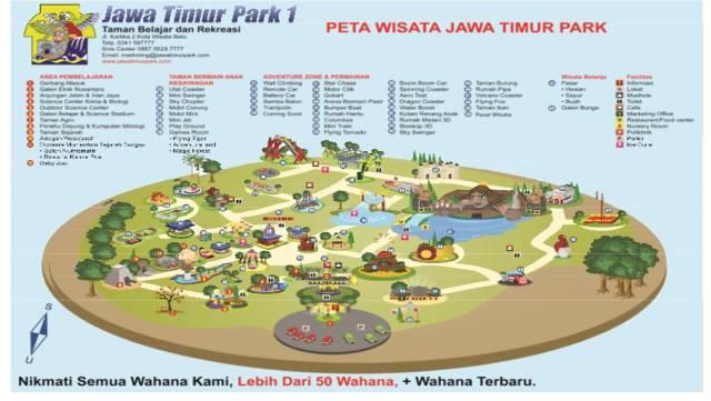Peta Wisata Jawa Timur Park 1