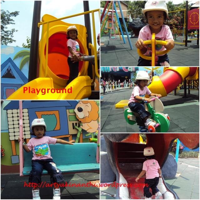 Wahan Playground yang cocok untuk anak dibawah lima tahun