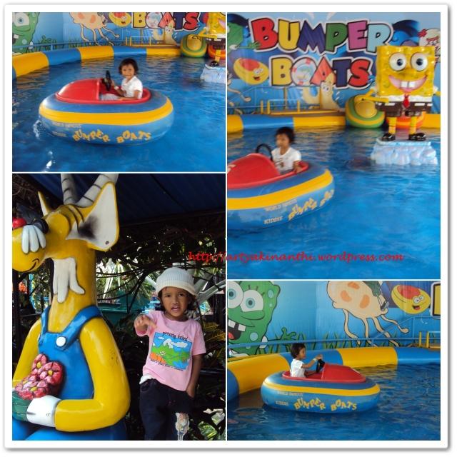 Wahana bermain Bumpers Boat