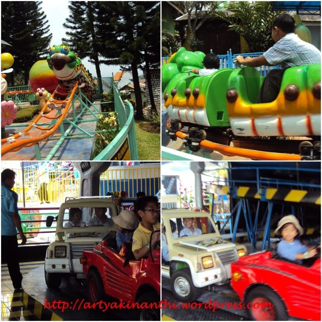 Wahana Permainan Mini roller coaster and car