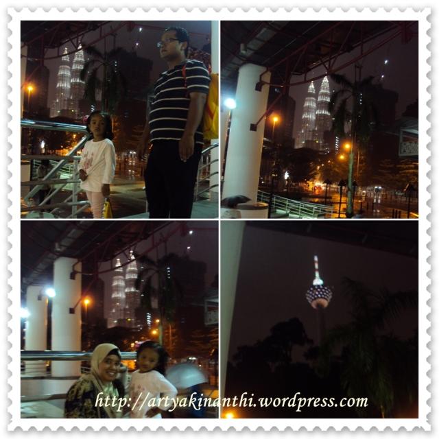 In front Of Dang Wangi LRT station (interchange from Monorail Bukit Nanas)