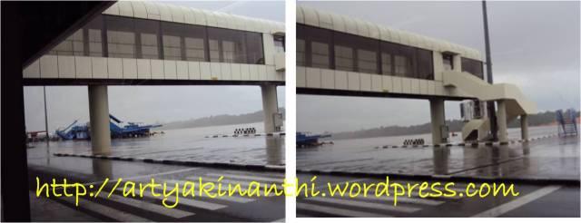 Hujan at bandara Hang Nadim Batam