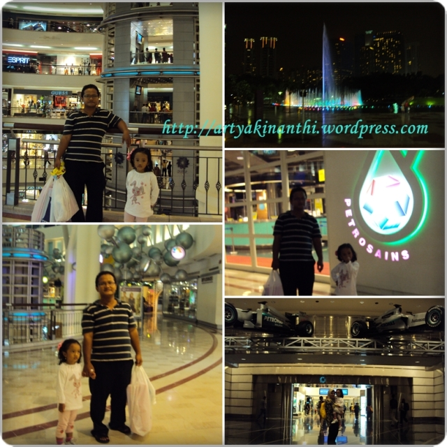 At KLCC - Suria Mall