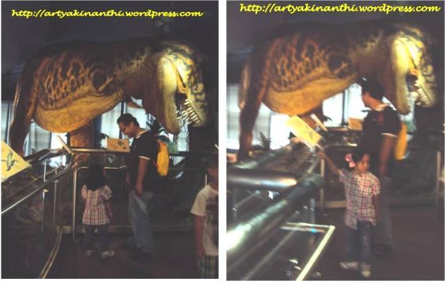 Patung Dinosaurus di Petrosains