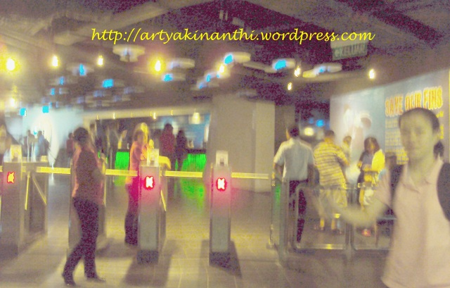 entry gate Aquaria  Kuala Lumpur