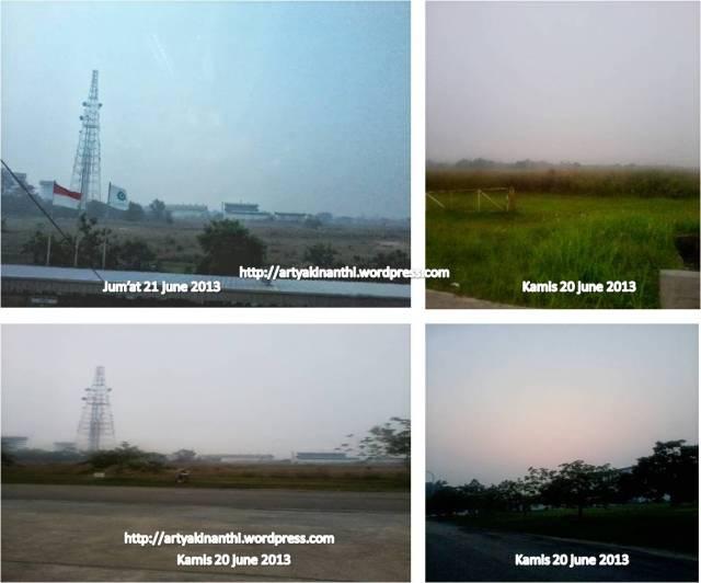 kabut asap di Bintan