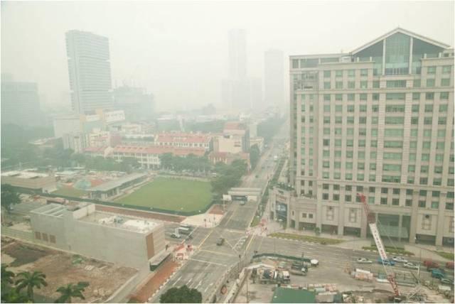 kabut asap disingapore sumber rafflesmedicalgroup