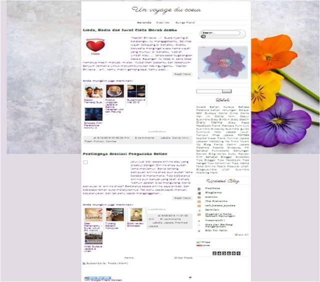 Penampakan Blog Susindra