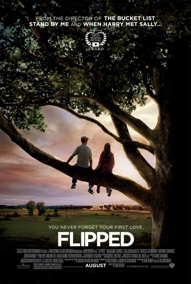 """Poster film """"Flipped"""" sumber dari sini"""