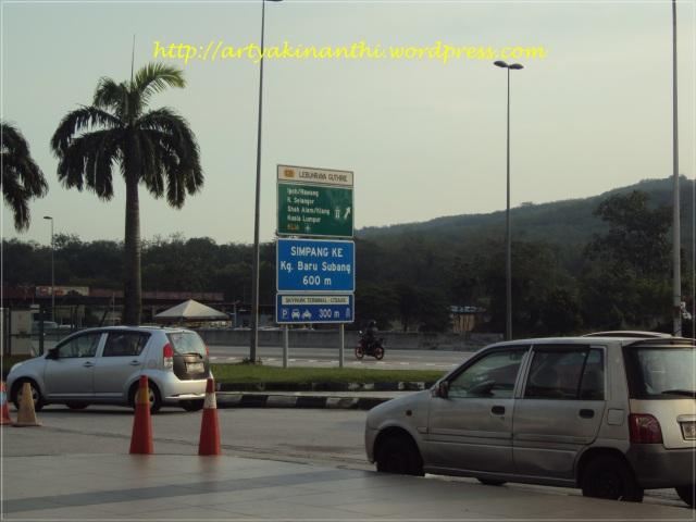 View diluar Bandara Subang - Kuala Lumpur