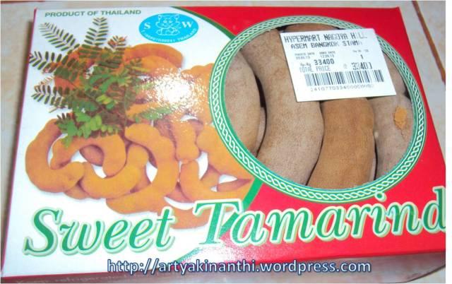 Asem Jawa eh bukan ding ini Asem Thailand alias Tamarind dari thailand
