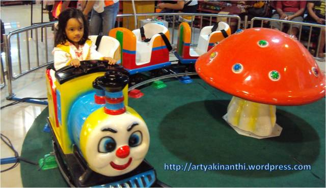 Arena Mini Train atau Kereta Api Mini di Game Fantasia KETOS