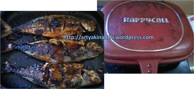Ikan Bakar dengan HappyCall