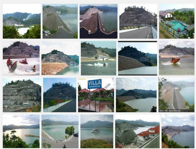 Waduk Wonorejo dari Google Image