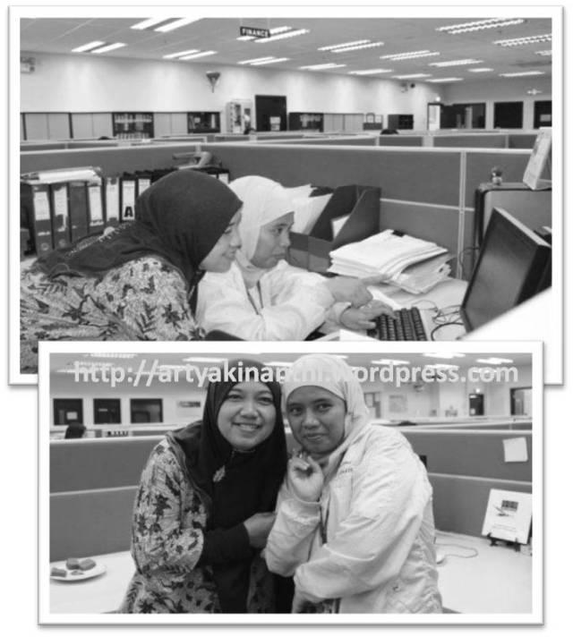 Emak Kinan dan Umi Habib...*banci photo...hahaha