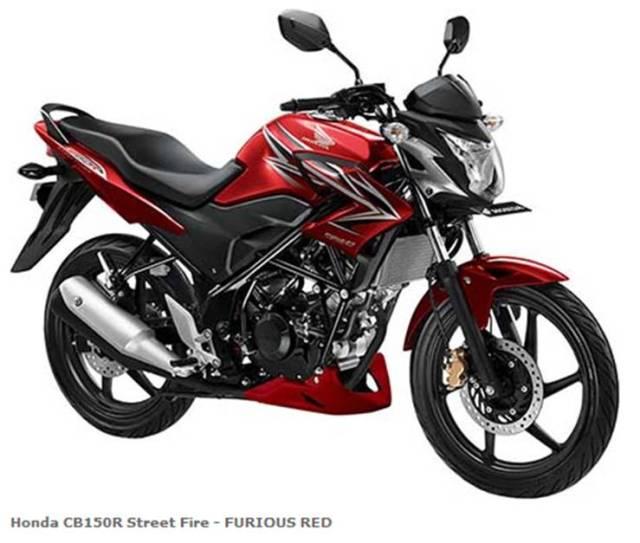 Honda CB150R Streetfire - FURIOUS RED Si Gagah Idaman hati