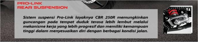 Keunggulan HONDA CB150R 4
