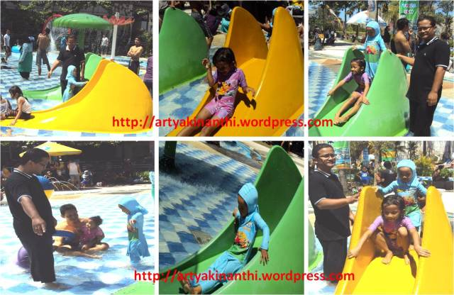 Mbak dilla dan kinan Happy and fun at Gumul Paradise Island Kediri