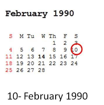10 February 1990 hari Sabtu, Gunung Kelud Meletus pas jaman saya SD