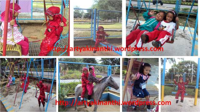 Keceriaan di Sekolah (Hari kamis memakai baju bebas, hari jumat baju muslim/ baju melayu)