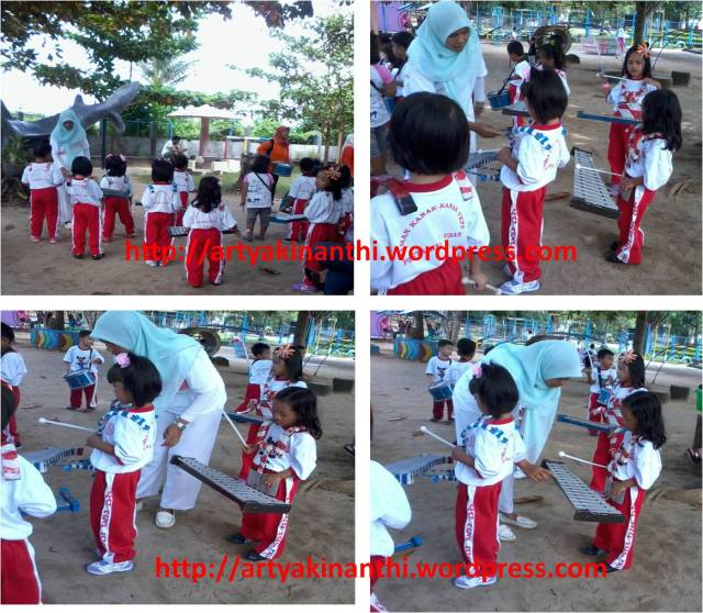 Kinan latihan drum band