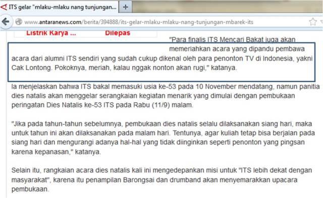 Kata Keren Dari Indonesia Lawak Klub guyonannya dengan gaya sok cerdas ...