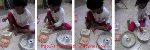 bermain dengan alat alat dapur