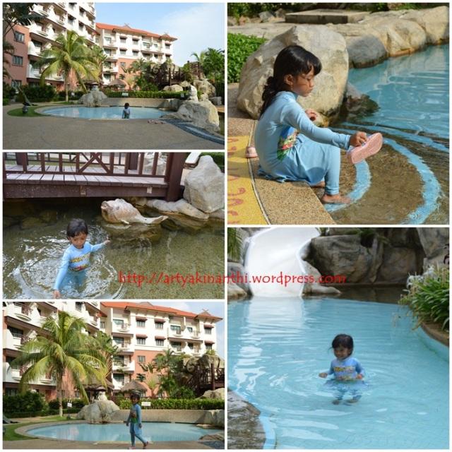 kolam renang anak anak  holiday inn batam 1